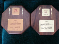 Collection of awards, BSCC#77, VE3DZ - UT4UZ, Yuri Onipko