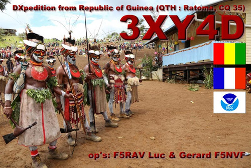 3XY4D: DXpedition from Republic of Guinea (QTH : Ratoma, CQ 35)