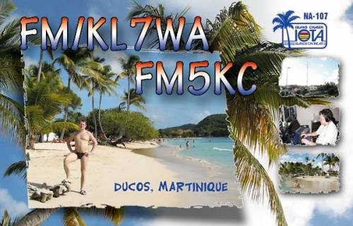 ARRL DX CW Contest 2009 с острова Мартиника