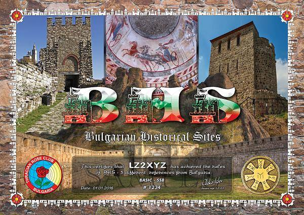 BHS - Bulgarian Historical Sites