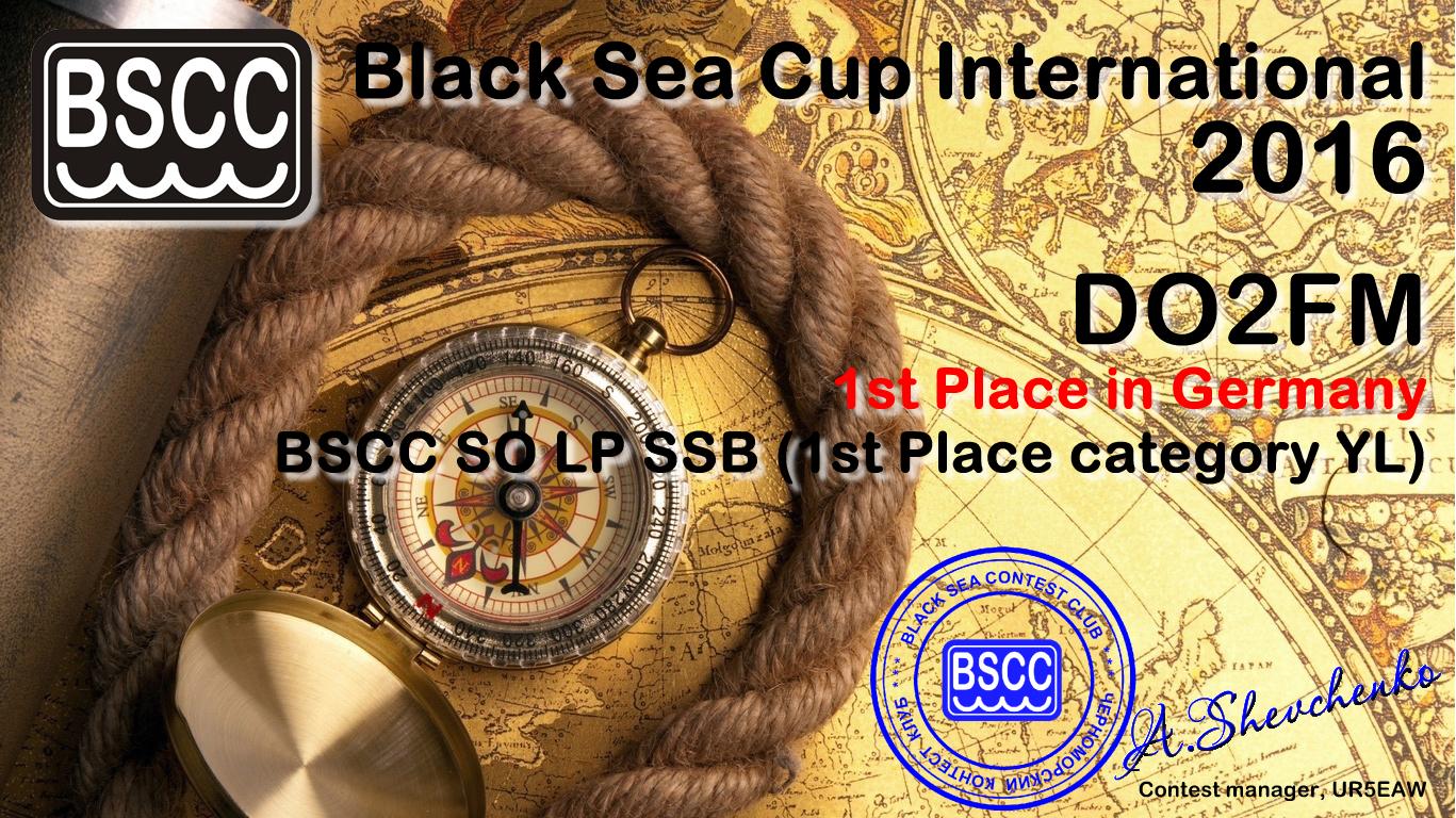 «Black Sea Cup International» 2016: начало рассылки дипломов за призовые места