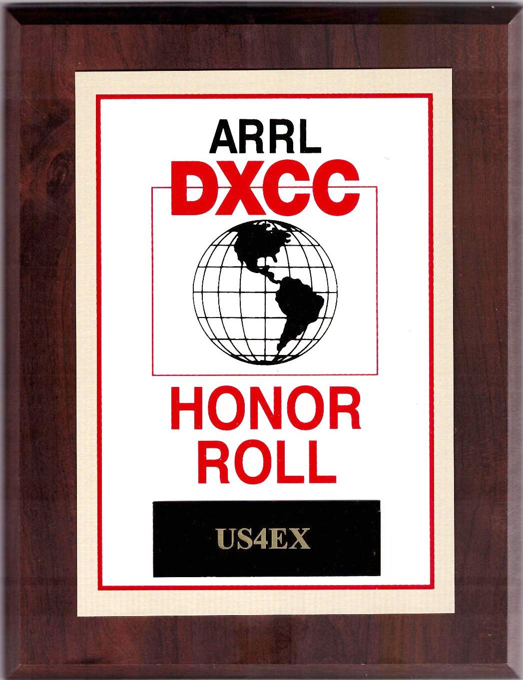 ARRL DXCC HR US4EX
