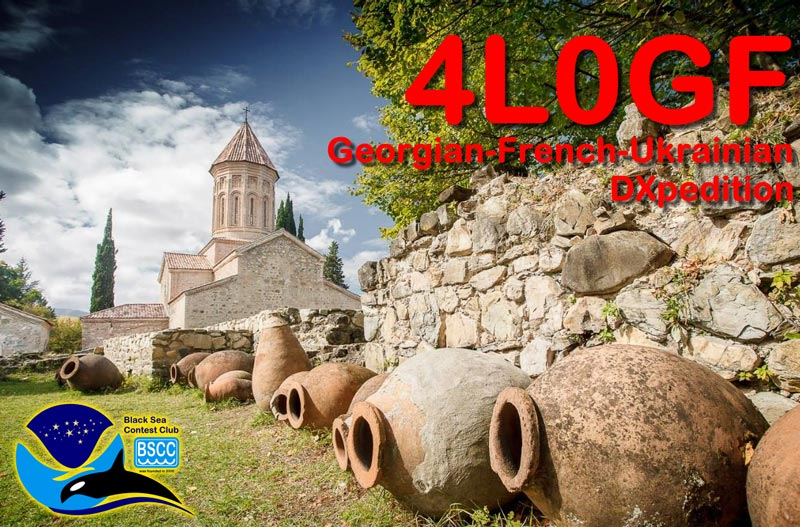 4L0GF: Georgian French Ukrainian DXpedition