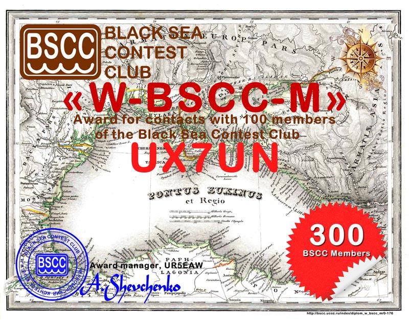 Диплом «W-BSCC-M»