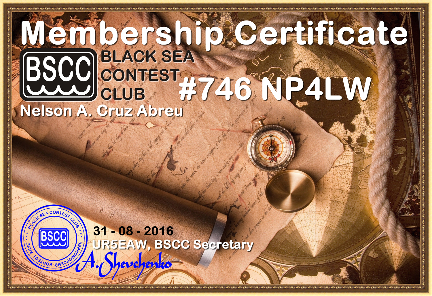 50th country-member of the Black Sea Contest Club