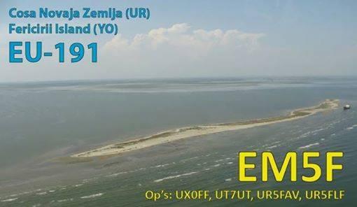 Last news EM5F: IOTA EU-191 / UIA BS-030