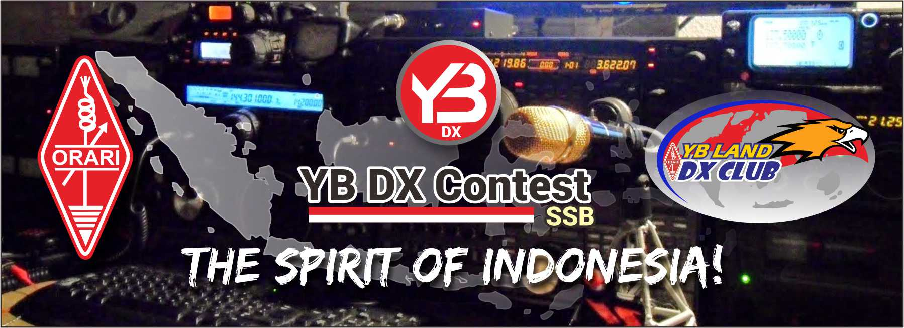 Invitation to participate from ORARI headquarters: YB DX Contest 2018
